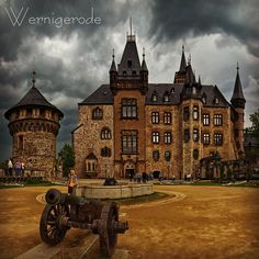 Wernigerode Castle by citiessightsWernigerode on IG.