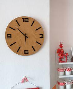 Clock, Wall, Home Decor, Large Clocks For Walls, Wall Clock Wood, Dekoration, Watch, Decoration Home, Room Decor