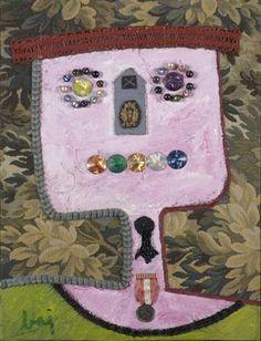 Le Petit Decore - Enrico Baj Billy Childish, Neo Dada, Max Ernst, Found Object Art, Art Database, Italian Artist, Caricature, Sculpture, My Favorite Things