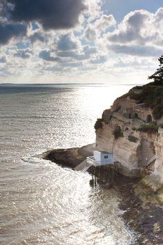 Meschers-sur-Gironde, entre Royan et Talmont-sur-Gironde   Pays Royannais Charente-Maritime Tourisme #charentemaritime   #Meschers