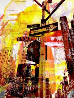 NEW NY MIXED MEDIA WORKS I
