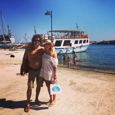 Island shopping, Kimolis island . Yankos boat tour Milos and Kimolis. Nice trip.