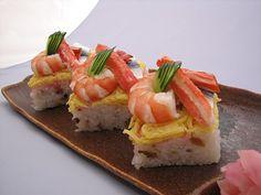 9種類の食材の贅沢なハーモニー『ばら寿司の押し寿司』ちらし寿司