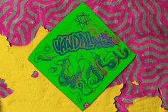 Green TNTCLS Art Print Bandana   VANDALrgz   Online Store  Merchandise  #VANDALrgz #bikepolo #lifestyle #streetwear