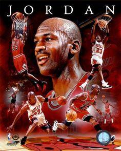 NBA Michael Jordan 2011 Portrait Plus Photo at AllPosters.com