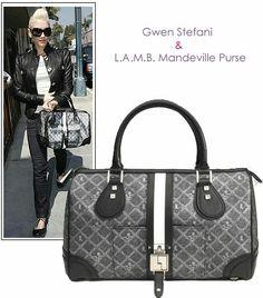 Lamb Bags Handbags Shoes Hang Bag Gwen Stefani Fashion