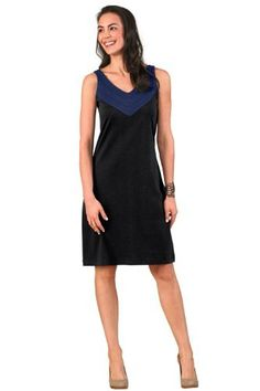 Fair Indigo V-Neck Organic Fair Trade Dress  Price : $65.90 http://www.fairindigo.com/Fair-Indigo-V-Neck-Organic-Trade/dp/B00IOD3JYY