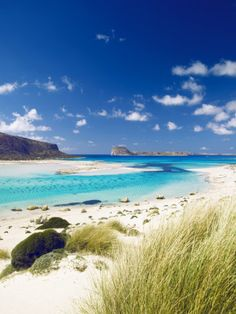 Balos Bay and Gramvousa in Chania, Crete  Just seen this photo in Lonely Planet magazine, broken me a bit.