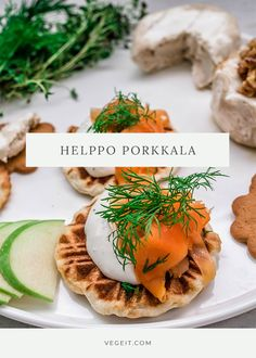 Nopea ja helppo porkkala - Vege it! Hummus, Camembert Cheese, Snacks, Vegan, Buffets, Ethnic Recipes, Food, Christmas, Xmas