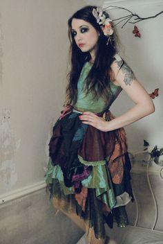 Forest dreamer dress.