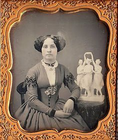 tintype, originally identified as 1840's but the hair looks more 1850's to me