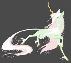 Mint Unicorn by probablyfakeblonde