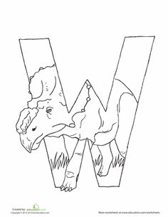 Lets hear a roar for the ABCs This series of dinoshaped