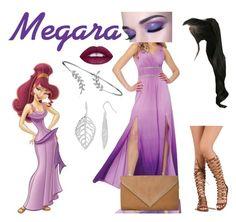 """Megara"" by wendydisneydarling on Polyvore featuring Disney, GABALNARA, Bling Jewelry, disney, hercules, Meg, Costume and cosplay"