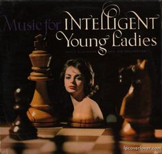 """Music for Intelligent Young Ladies""  Willy Albimoor and his Orchestra ARC Records (London)."