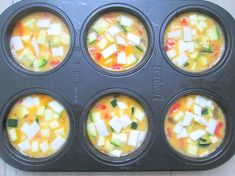 Ei muffins  –  omelet on-the-go!