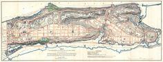 1870 Knapp Map of Northern Manhattan (New York City), Washington Heights, Inwood