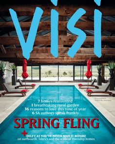 VISI / Articles / Spring fling Love the mag! South African Design, Amazing Spaces, Delft, Surfboard, Design Trends, Beautiful Homes, Innovation, Architecture, Digital