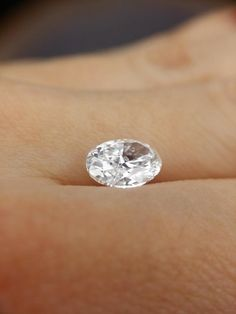 Gorgeous Oval Shaped 2.02 ct Loose Diamond, GIA Certified | I Do Now I Don't