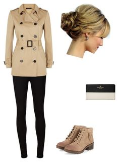 """Fall hard"" by kinzianna1998 ❤ liked on Polyvore featuring AG Adriano Goldschmied, Jaeger and Kate Spade"
