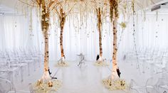 Nothing found for Wedding Planning Photo Galleries Ceremony Decor Wedding Ceremony Altar Alternatives 2 Birch Trees Wedding Ceremony Ideas, Wedding Altars, Ceremony Decorations, Wedding Receptions, Rustic Wedding, Ceremony Seating, Wedding Aisles, Indoor Ceremony, Wedding Canopy