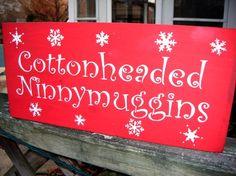 cute sign!  I just love Elf :)