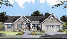 Plan 39032ST: Charming Ranch Home Plan