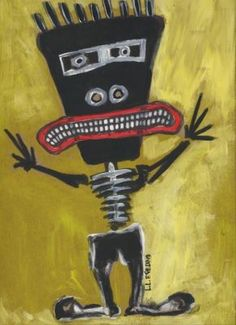 Tribe Man by Raw Folk Art, via Flickr