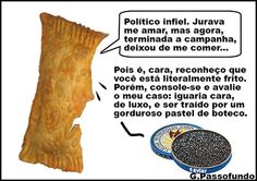PASTEL X CAVIAR | Humor Político