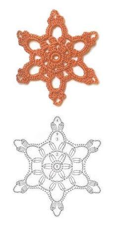 snowflakes crochet 17