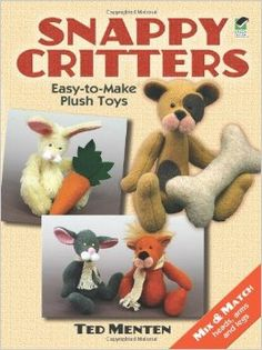 Snappy Critters: Easy-to-Make Plush Toys ad