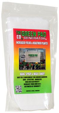 Green Pad Co2 Generator System - Grow plants up to 25% faster with the green pad Co2 system.