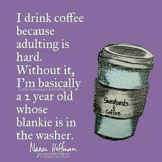 Me today.  #coffee #coffeelove #coffeequotes #coffeememe #coffeeaddict #deathbeforedecaf #sweatpantsandcoffee by sweatpantsandcoffee