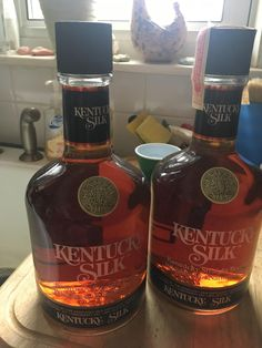 Kentucky Silk - Found in my fathers attic room, I believe they're from the Good Whiskey, Cigars And Whiskey, Whisky, Rye Whiskey, Bourbon Liquor, Bourbon Drinks, Fun Drinks Alcohol, Alcoholic Drinks, Best Bourbons