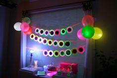 Larcie Bird: Neon Laser Tag {Birthday Party}