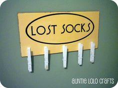 Lost Socks holder