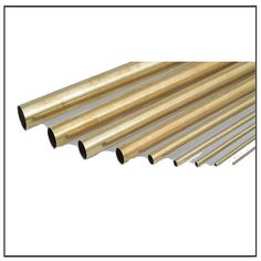Thin Wall Brass Tubing, Round Brass Tubing, ASTM C26000 C28600 Brass Pipe Tube Metal