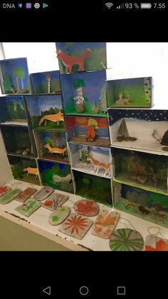 Art For Kids, Crafts For Kids, Arts And Crafts, Paper Crafts, Forest Crafts, 4th Grade Art, Animal Projects, Circle Time, Forest Animals