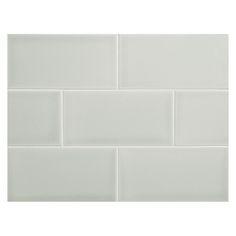 "Complete Tile Collection Vermeere Ceramic Tile - Dk. Ocean Breeze - Gloss, 3"" x 6"" Manhattan Ceramic Subway Tile, MI#: 199-C1-312-721, Color: Dk. Ocean Breeze"