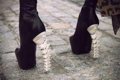 spine bone shoes
