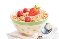 Porridge: Weil der Hafer angeblich die Ausschüttung des körpereigenen Glückshormons Serotonin anregt, nennen die Schotten ihren Porridge auch Gute-Laune-Frühstück.
