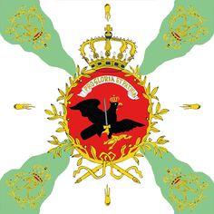 Sächsishe Fusilier-Regiment Nr. 54 von Saldern, Liebfahne.