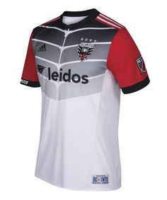 The DC United 2017 away jersey boasts a completely new look for the MLS  club, made by Adidas.