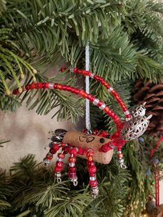 Christmas Fun, Christmas Wreaths, Christmas Decorations, Christmas Ornaments, Holiday Decor, Wine Cork Ornaments, Local Seafood, Red Lobster, Cheer You Up