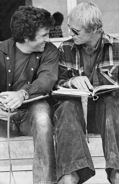 David Soul &  Paul Michael Glaser talking about the script - Starsky and Hutch