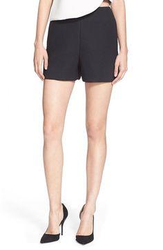 TIBI Crepe Shorts. #tibi #cloth #