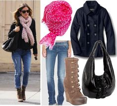 casual winter outfits | Styling Casual Wear - Celebrity Winter Casual Outfit2