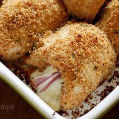 Chicken Rollatini with Prosciutto and Cheese Recipe