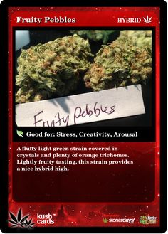 Fruity Pebbles | Repined By 5280mosli.com | Organic Cannabis College | Top Shelf Marijuana | High Quality Shatter