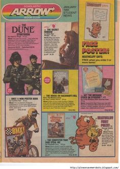 The excitement you got each month when your teacher passed out Troll & Scholastic book order forms. | 50 Things Only '80s Kids Can Understand